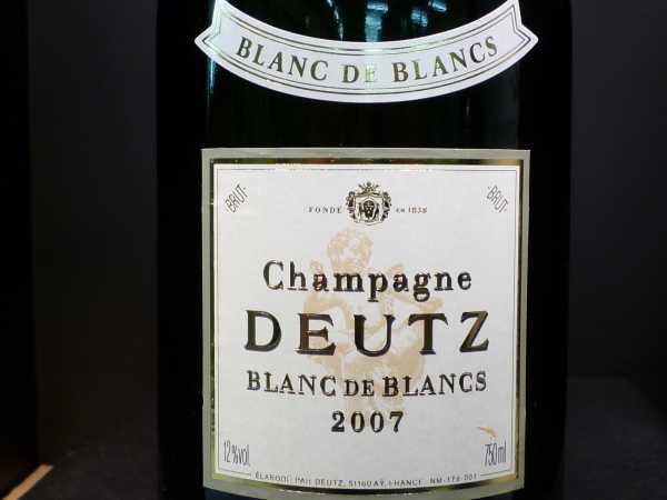 Deutz Blanc de Blancs 2007 0,75l