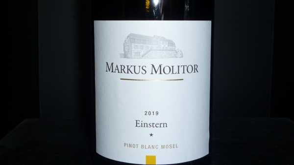 Markus Molitor Pinot Blanc Einstern* 2019 Mosel