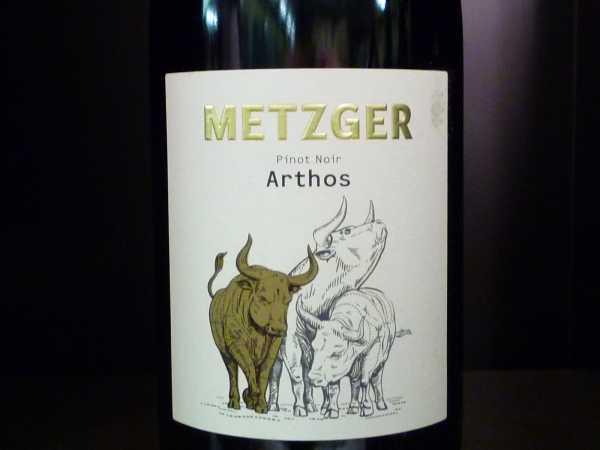 Metzger Arthos Pinot Noir 2013 -Restmenge-