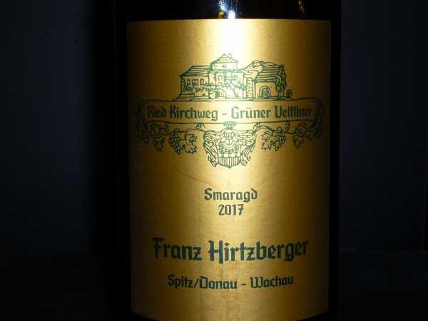 Hirtzberger Grüner Veltliner Smaragd Kirchweg 2017