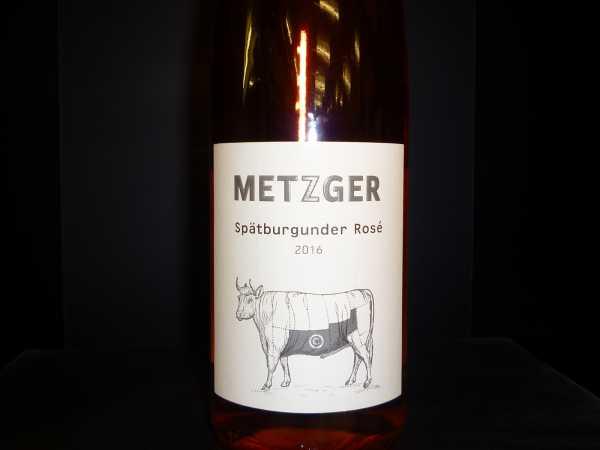 Metzger Spätburgunder Rosé 2018