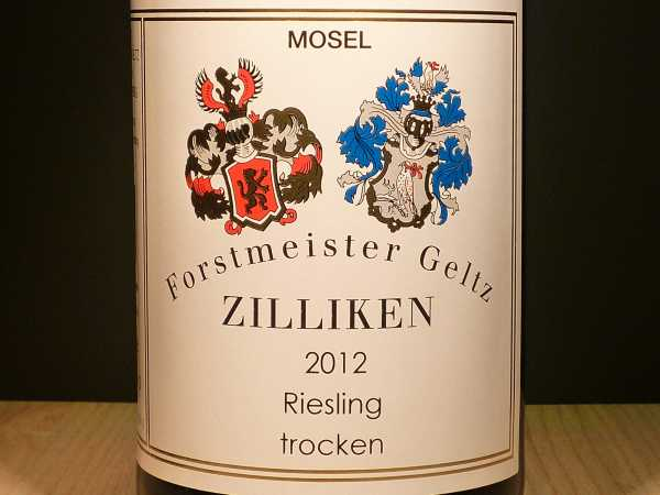 Forstmeister Geltz Zilliken Riesling trocken Saar 2017 -Restmenge-