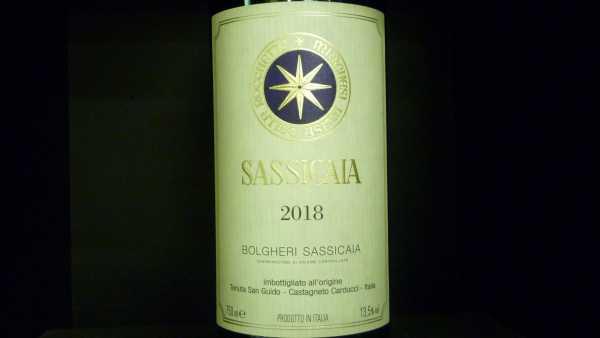 Sassicaia Tenuta San Guido 2018