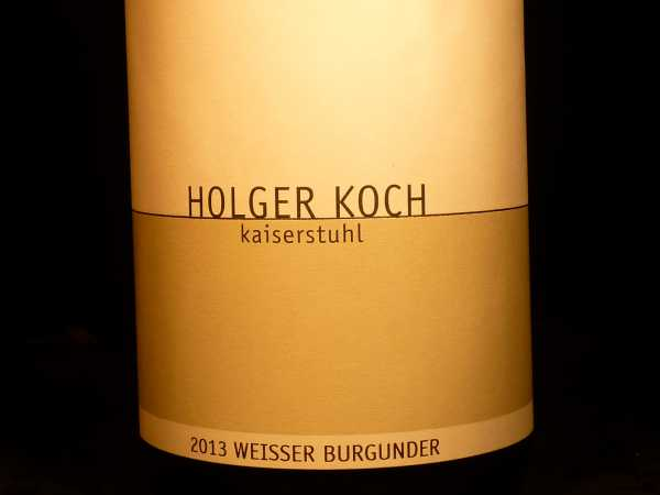 Holger Koch Weißburgunder 2018