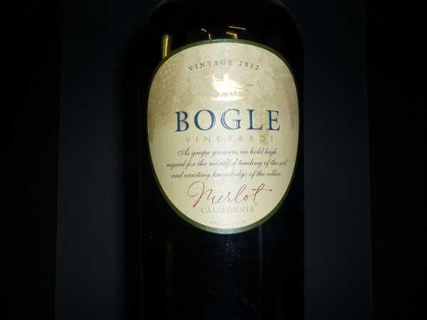 Bogle Vineyards Merlot California 2012 -Restmenge-