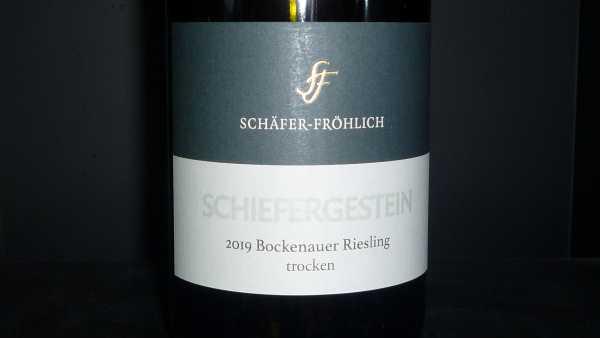 Schäfer-Fröhlich Bockenheimer Schiefergestein Riesling trocken 2019