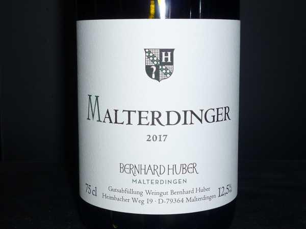 Bernahrd Huber Malterdinger Weiß 2017