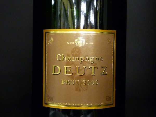 Deutz Brut Millèsimè 2006 0,75l