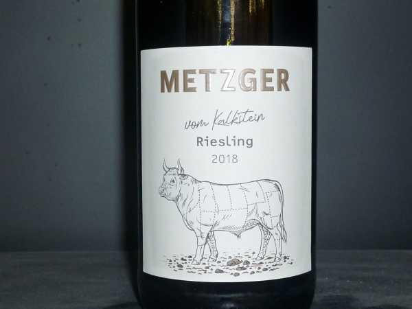 Metzger Riesling vom Kalkstein 2018 -Restmenge-