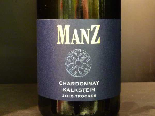 Manz Chardonnay trocken Kalkstein 2018