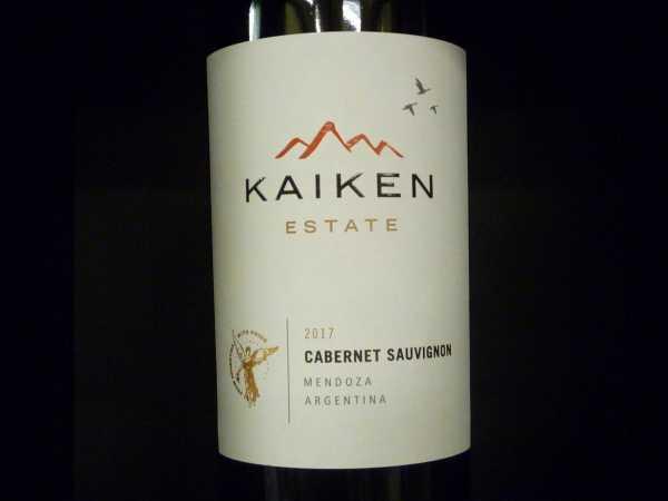 Kaiken Estate Cabernet Sauvignon 2017 Restmenge