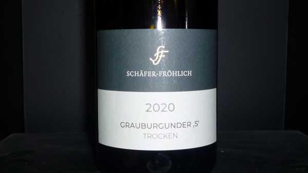 Schäfer-Fröhlich Grauer Burgunder S 2020
