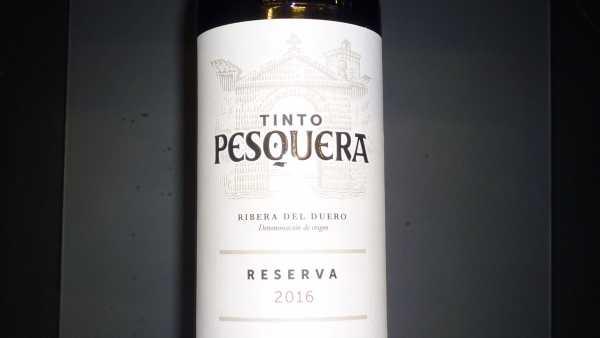 Tinto Pesquera Reserva 2016 (Restmenge)