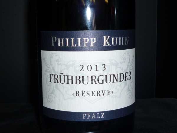 Philipp Kuhn Frühburgunder Réserve 2013 / Restmenge