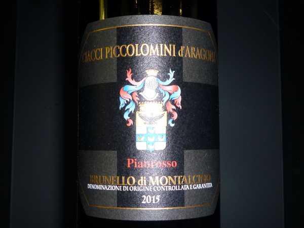 Brunello di Montalcino Ciacci Piccolomini Vigna di Pianrosso 2015