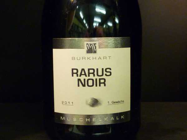 Mario J. Burkhart Rarus Noir 2011 1 Gewächs