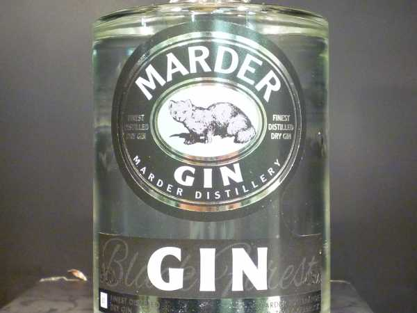 Marder Finest Distilled Dry Gin 0,5 l