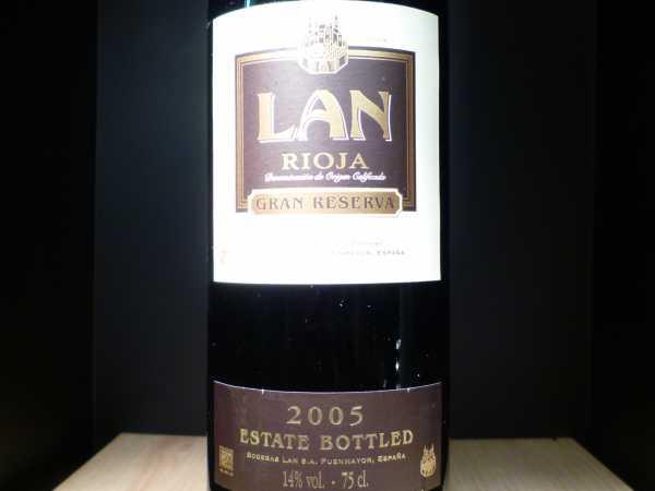 Lan Gran Reserva Rioja 2010