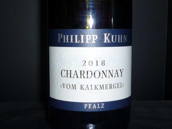 Philipp Kuhn Chardonnay Vom Kalkmergel trocken 2018