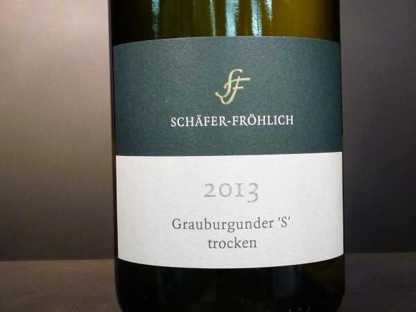 Schäfer-Fröhlich Grauer Burgunder S 2018