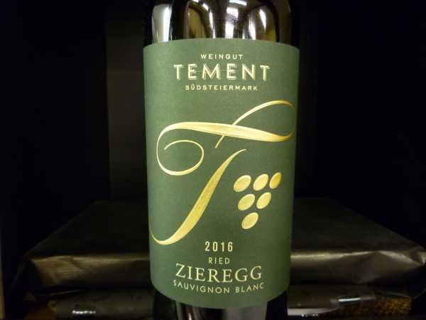 Zieregg Sauvignon blanc 2016 Große STK Lage - Tement