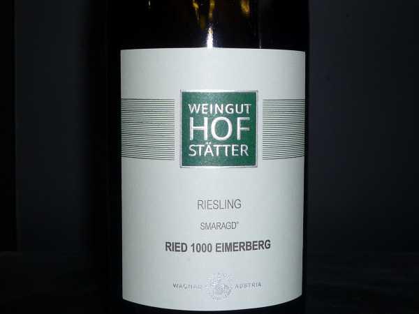 Weingut Hofstätter Riesling Smaragd Ried 1000 Eimerberg 2018