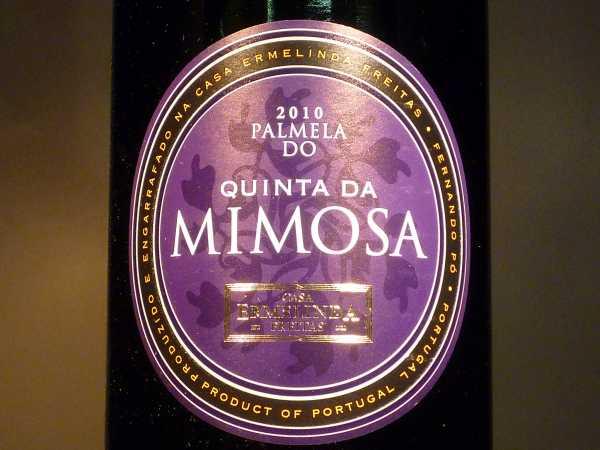 Quinta da Mimosa Palmela DO 2016