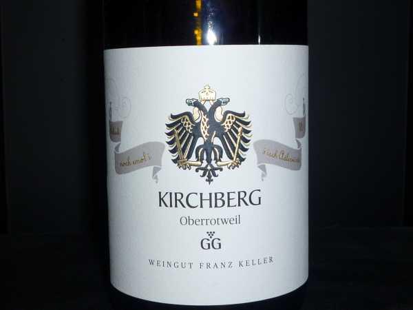 Franz Keller Chardonnay Kirchberg GG 2015 -Restmenge-