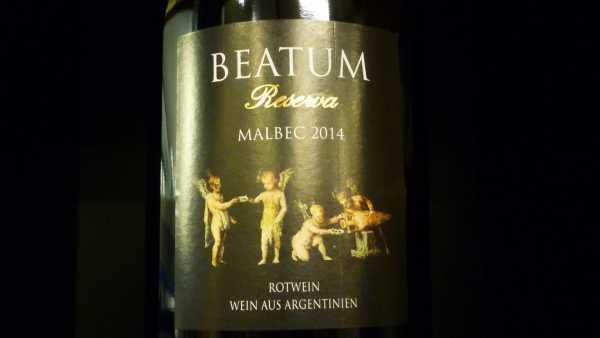 Dolium Beatum Malbec Reserva 2014
