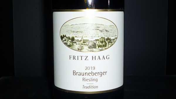 Fritz Haag Brauneberger Riesling Tradition feinherb 2019