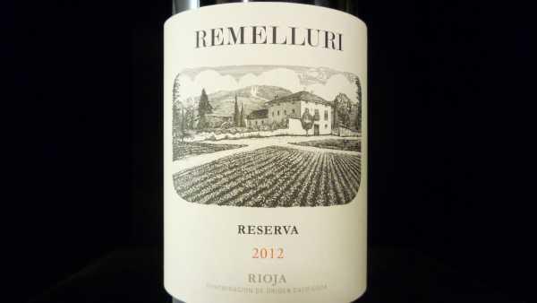 Remelluri Reserva 2012 -Restmenge-