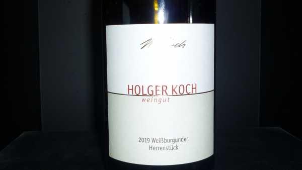 Holger Koch Weißburgunder Herrenstück 2019