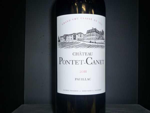 Chat. Pontet-Canet Pauillac 2011