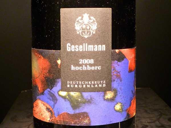 Gsellmann Blaufränkisch Hochberc Burgenland 2015 -Restmenge-