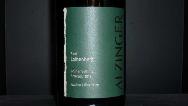 Alzinger Loibenberg Riesling Smaragd 2016