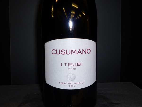Cusumano Syrah-I Trubi Sicilia 2017