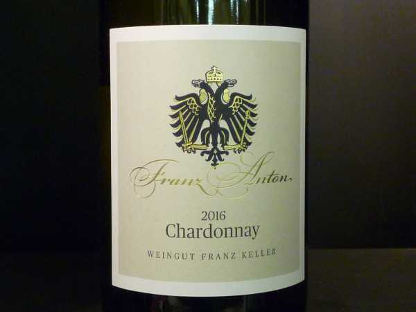 Franz Keller Chardonnay Franz Anton 2016- Restmenge-