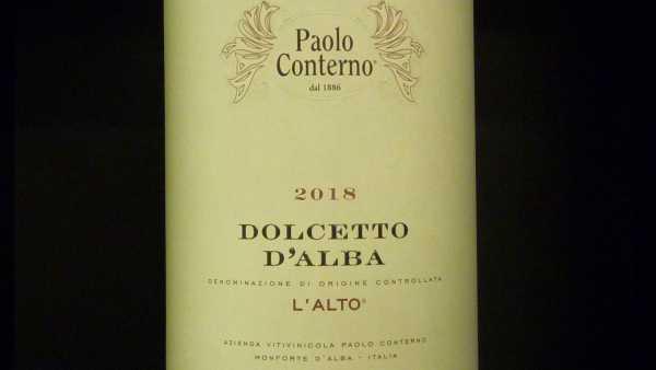 Dolcetto d'Alba Paolo Conterno 2018
