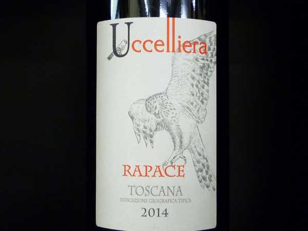 Uccelliera Rapace Toscana 2016 -Restmenge-