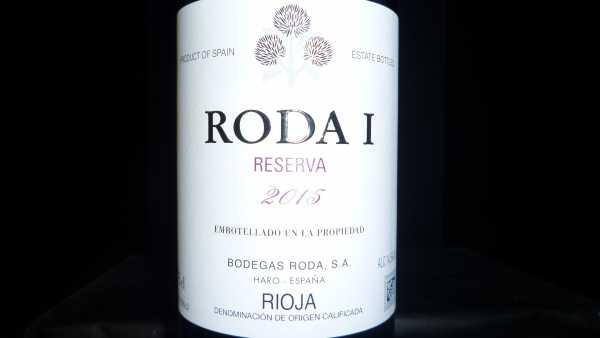 Roda 1 Reserva Rioja 2015