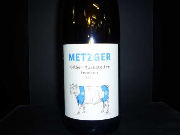 Metzger - Gelber Muskateller B trocken 2016