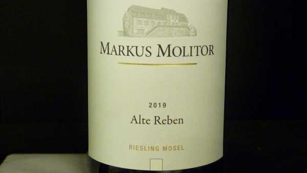 "Markus Molitor Riesling ""Alte Reben Mosel"" trocken 2019"