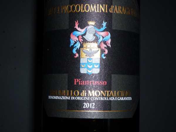 Brunello di Montalcino Ciacci Piccolomini Vigna di Pianrosso 2012