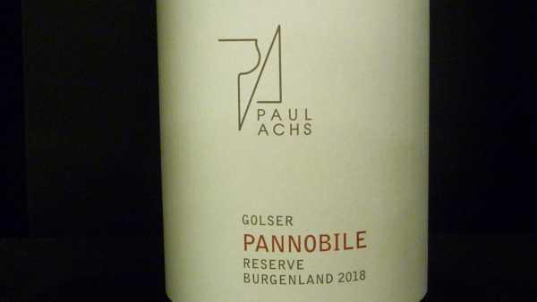Achs Paul Pannobile Reserve bio 2018