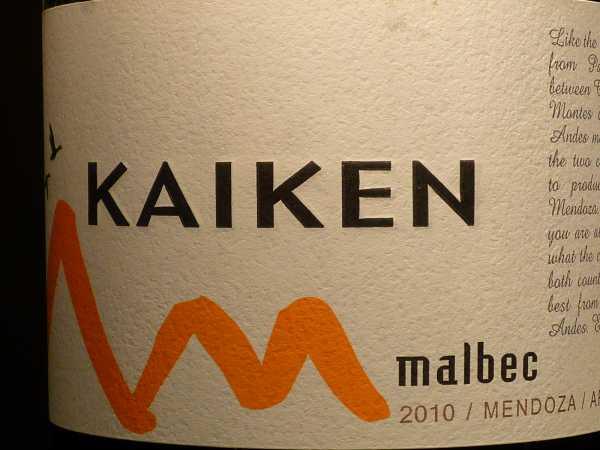 Kaiken Malbec 2016