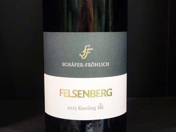 "Schäfer-Fröhlich Riesling Großes Gewächs ""Felsenberg"" 2015 Restmenge"