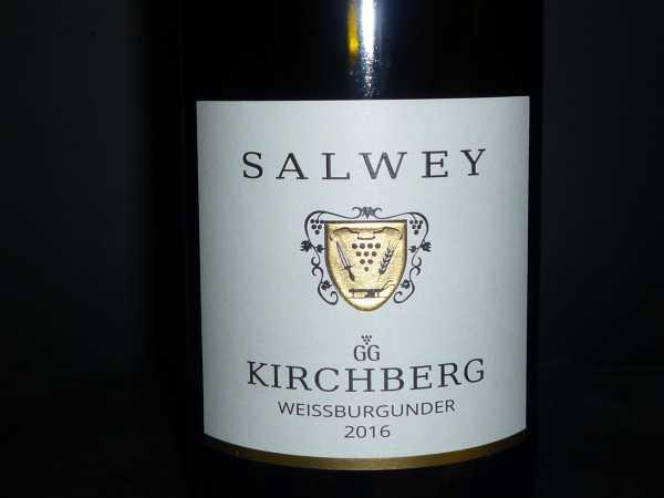 Salwey KIrchberg Weissburgunder G.G. 2016 -Restmenge-