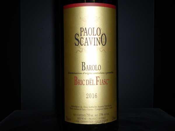 Paolo Scavino Barolo Bric del Fiasc 2016