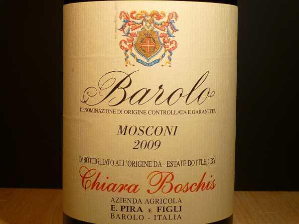 Barolo Mosconi Pira & Figli Chiara Boschis 2013