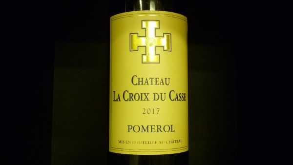 Chat. La Croix du Casse Pomerol 2017